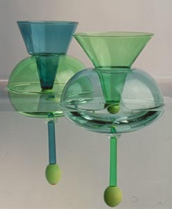 floating martini glasses - Floating Wine Glass